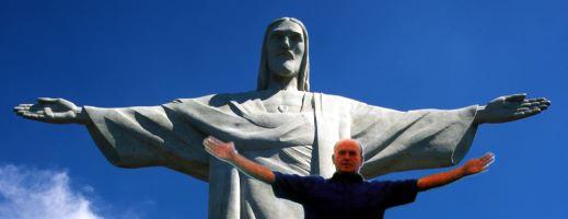 Cristo Redentor auf dem Corcovado in Rio de Janeiro